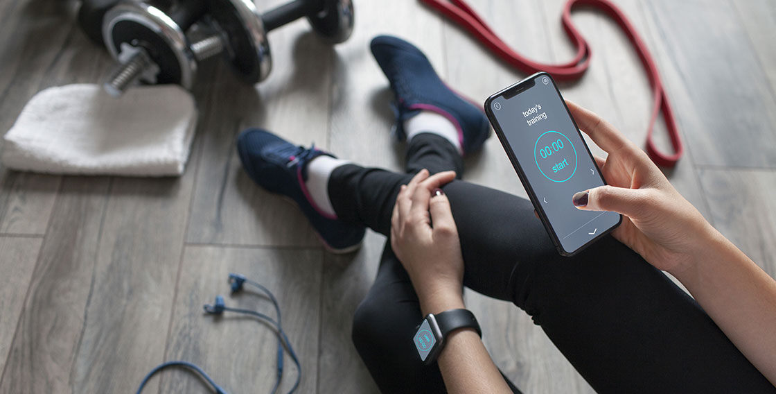 personal trainer app